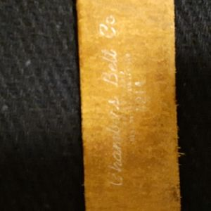 chambers Other - Chambers Antique Leather Belt Sz. 29 Men's
